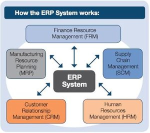 How the ERP system works