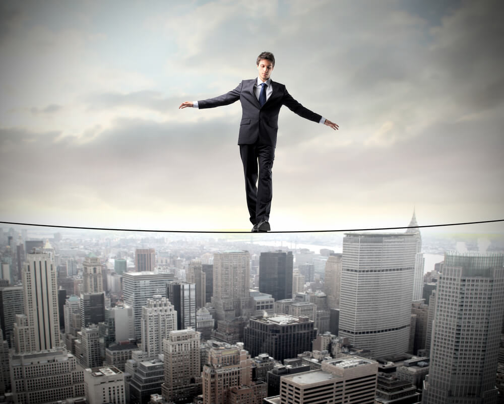 Risk Management is like walking on a thin line
