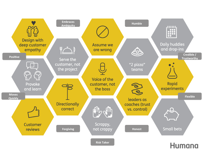 Humana's new values
