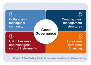 individual building blocks of companyspecific corporate governance